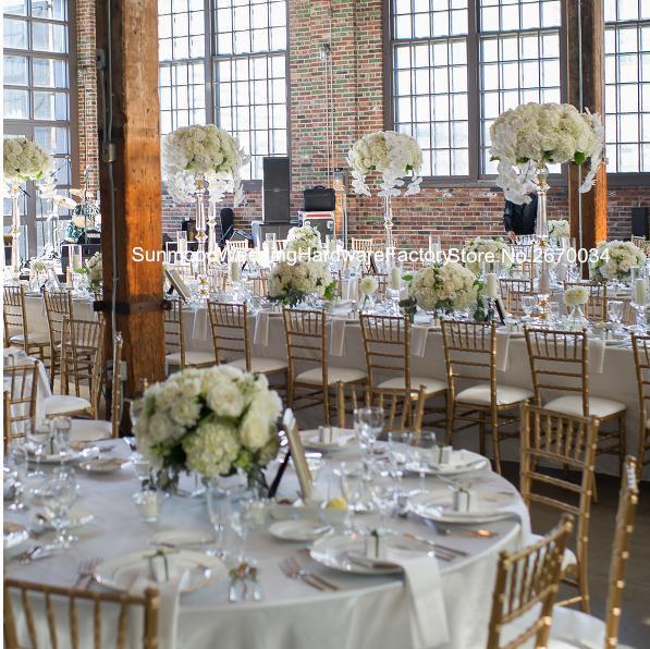 Lüks akrilik kristal boncuklu düğün koridor için pillar düğün dekor parti dekorasyon