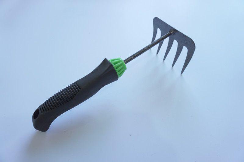 Iron Rake Garden Tool 5 teeth lawn yard Rake Various Types Metal Rake Plant Tool 48Pcs/lot