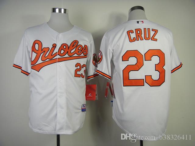 7343c1df1 ... baltimore orioles mens jerseys 21 nick markakis 23 nelson cruz baseball  jersey stitched . ...