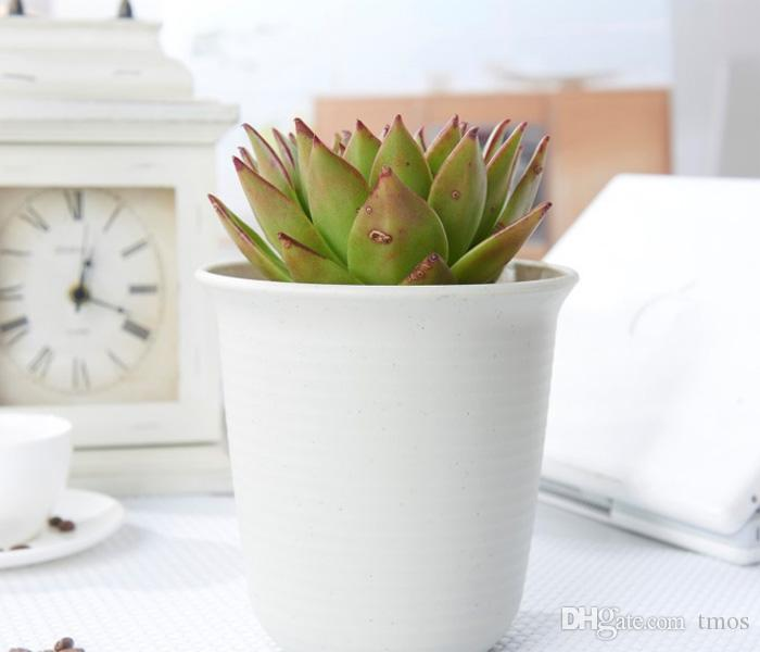 Wholesale 50PCS Dull Polish garden nursery Plastic flower bonsai Pots for Planting, Cuttings & Seedlings, Durable Living Garden Planters