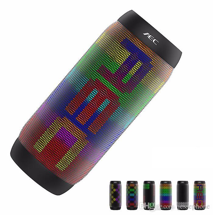AEC BQ-615 Pro Mini altoparlante Bluetooth impermeabile colorato Altoparlante wireless portatile Super Bass Subwoofer per sport all'aperto NFC Altoparlante portatile FM