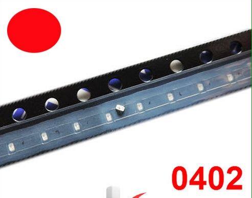 Diodo LED MIX SMD 0402 Rojo / Verde / Azul / Blanco / Rosa / Color Púrpura