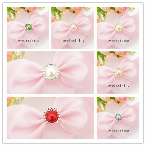 13 Farben, die Sie auswählen - 100pcs Perle Brads Papierverschluss für Hochzeitsbevorzugungskasten DIY-Karte, die DIY Bastelbedarf-Einladungs-Dekor