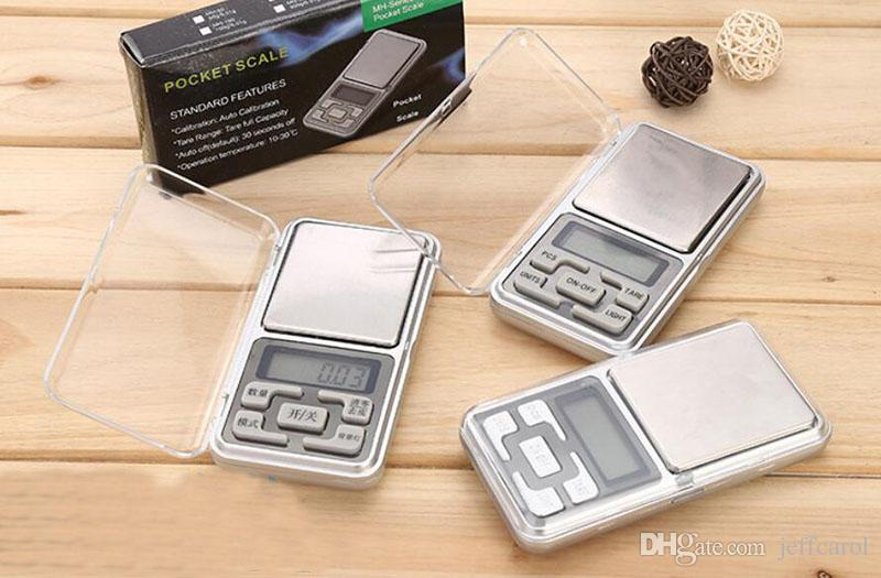 200pcs by DHL FEDEX 200g/0.01g Mini Portable Digital Electronic Jewelry Pocket Weight Scale with retail box