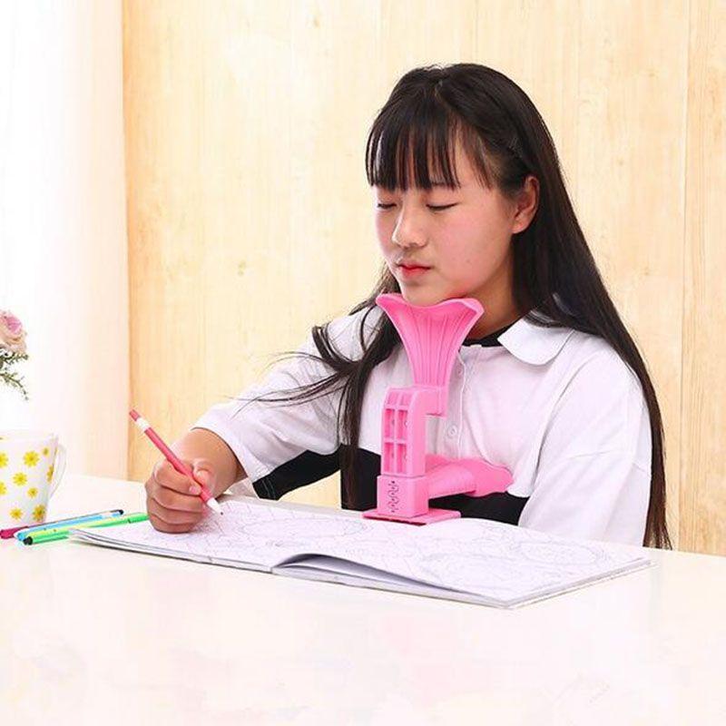 Moda Pisanie Postawa Korektor Korekta Urządzenie Korekta Dzieci Wielofunkcyjna Ochrona wzroku Siedzi Blue Etc Multiple Color Support