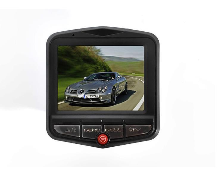 "50pcs 1080P 2.4""LCD Car DVR Camera IR Night Vision Video Tachograph G-sensor Parking Video Registrator Camera Recorder Retail packing boxes"