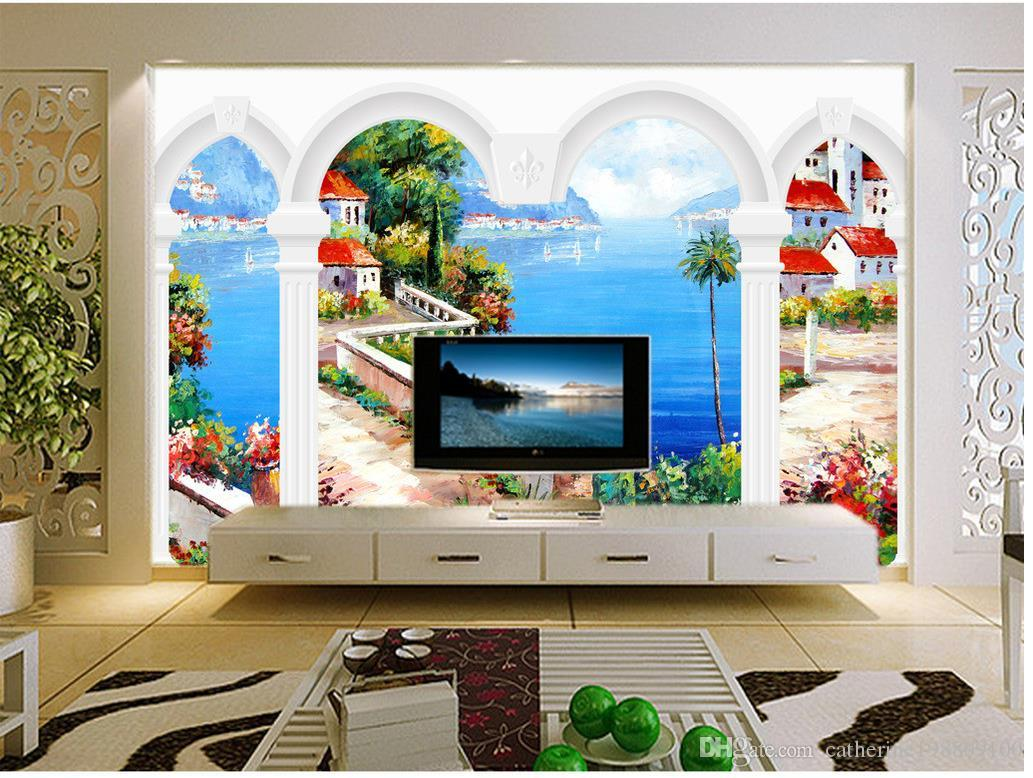 european mediterranean 3d fresco background wall mural 3d european mediterranean 3d fresco background wall mural 3d wallpaper 3d wall papers for tv backdrop