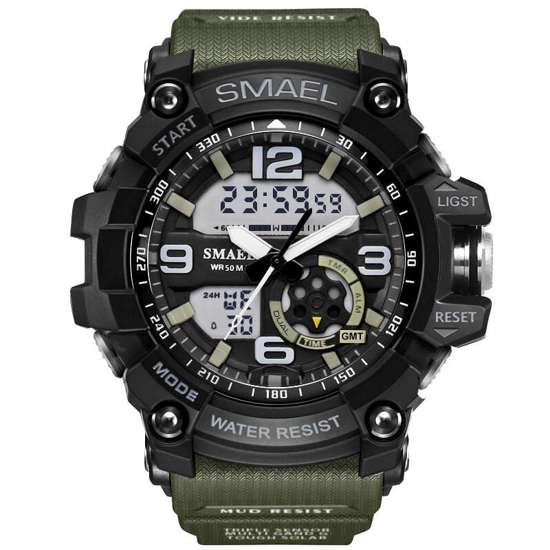 Men Sport Watch LED Digital Waterproof Casual Shock Male Clocks Relogios Masculino Men's Gift Military Wrist Watches Drop Shipping