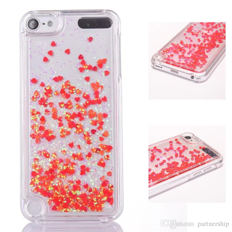 newest collection fe650 97d75 2019 Sparkle Quicksand Glitter Star Flowing Liquid Case For Apple IPod  Touch 5/6/Itouch 5/6 Clear Hard PC Cover Phone Cases From Partnership,  $1.05 | ...