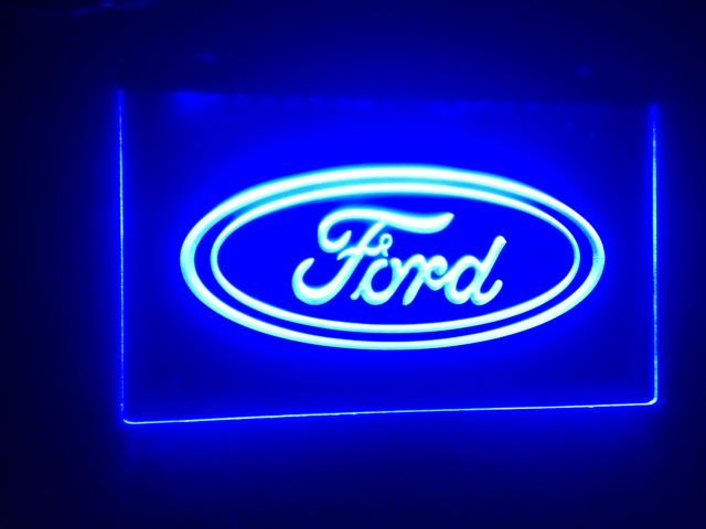 TR-02 Ford car bar bar bar LED Neon Sign
