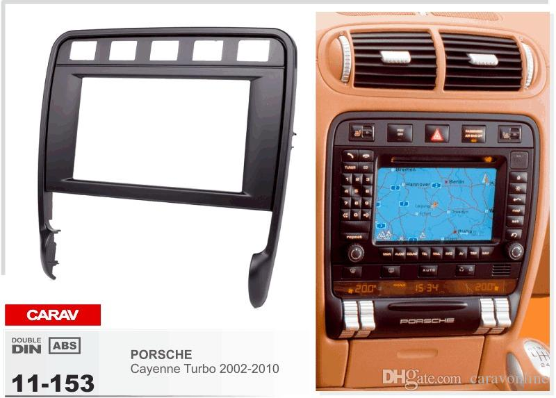 CARAV 11-153 CAR Cruscotto installazione installazione kit di montaggio per PORSCHE Cayenne Turbo 2002-2010 2-DIN