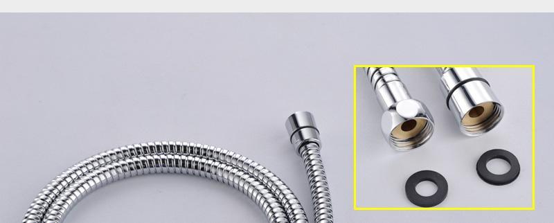 hm Bathroom Shower Head with 4 Ways SUS304 20inch Rain & Mist & Brass Slide Bar & Brass Spout & Brass Handheld Shower Set (28)