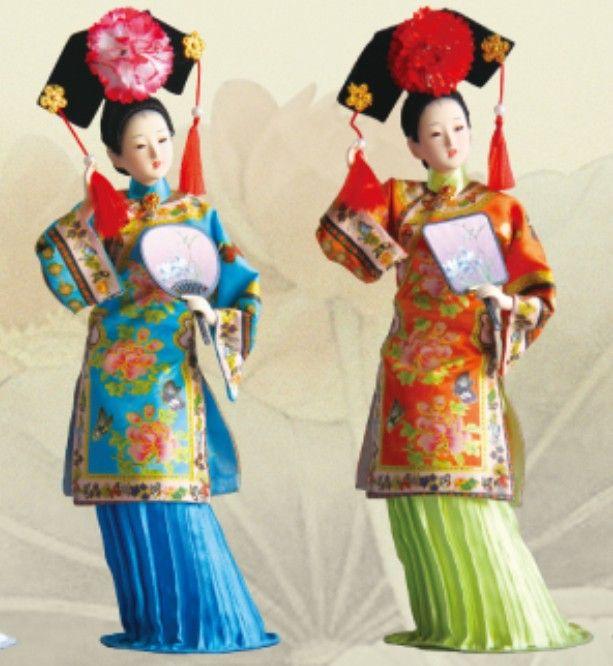 Il nuovo pacchetto di 5 colori post Dinastia Qing Qing Dinastia Qing principessa di seta con il retro PinFei talento xiunv Zhen Huan
