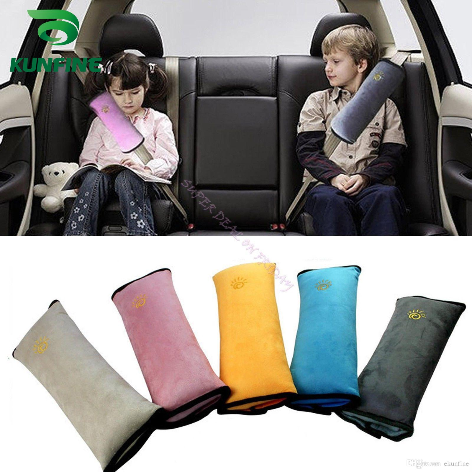 1Pair Universal Soft Car Safety Seat Belt Shoulder Strap Pad Cushions Head Cover