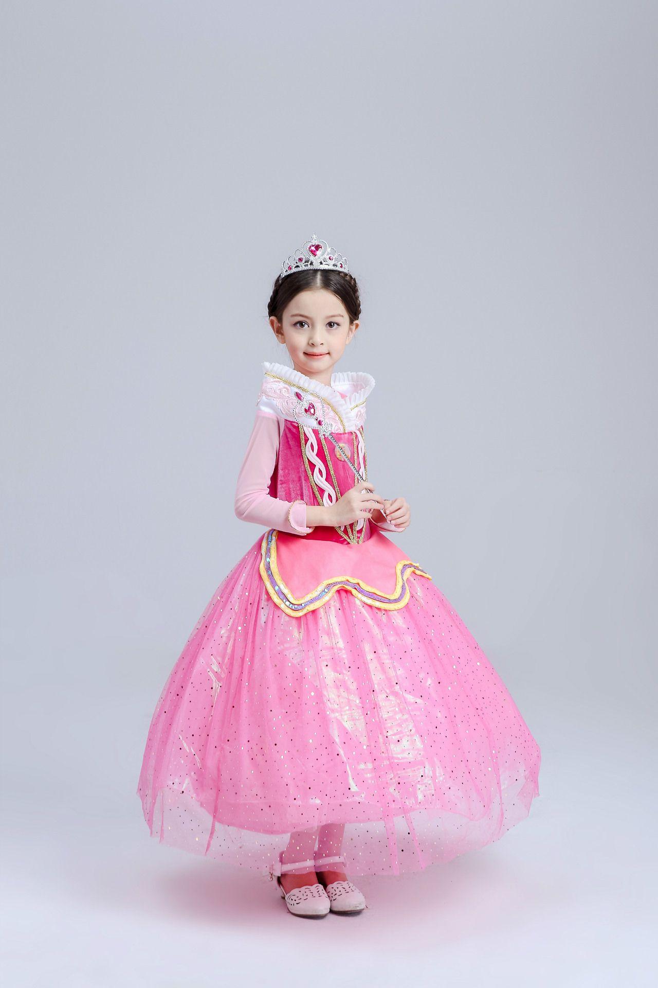 Best Belle Fancy Princess Dress Girl Children Clothing Dress