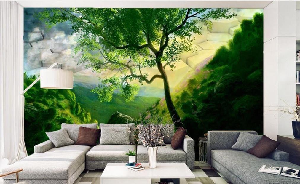 Papel pintado paisajes mural d foto papel pintado imagen - Papel pintado paisajes ...