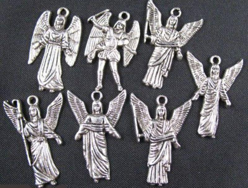 200PCS Mixed Tibetan silver wing angel charms FREESHIP A1696