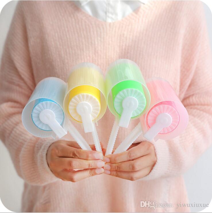 красочные моющиеся ворсинки роликовые щетки липкие волосы приятель одежда для удаления пыли волосы сосание липкая щетка ворсинки прилипание ролики с крышкой