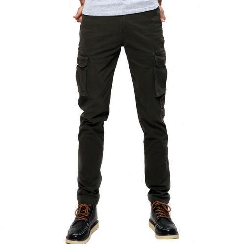 Мода военные брюки-карго мужчины свободные мешковатые тактические брюки Мужские спортивные брюки повседневная одежда мужской комбинезон мужские Pants680