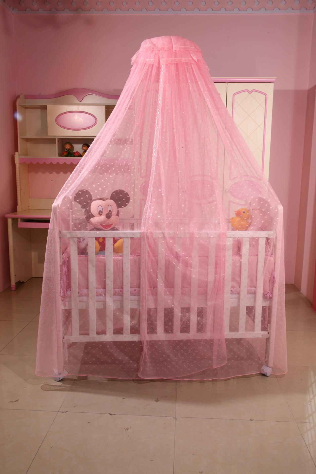 Baby bed pictures - Baby Crib Net Canopy Is A Very Helpful Companion For Parents In Summer A Light Baby Cot With Net Can Help Protect Children From The Strong Sunshine And