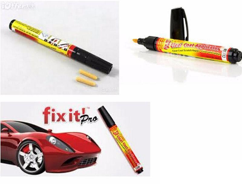 Fix It Pro Car Scratch Repair Remover Pen Clear Coat Applicator Tools Nice Hot