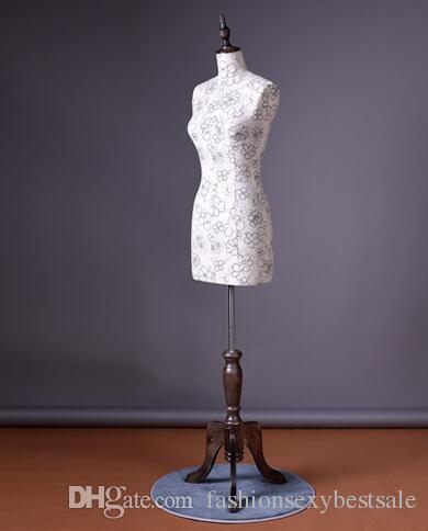 Moda all'ingrosso Donne Donne Mezza-lunghezza Cheongsam Fotografia da sposa Modello Display Cosmetologia Cucitura-manichino per vestiti 1 PZ B602