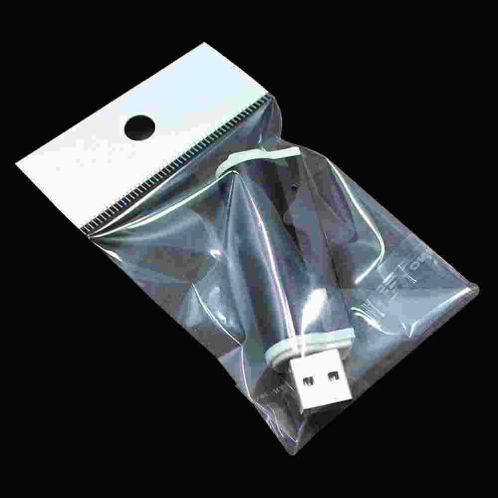 10*18cm Clear Plastic Retail Packaging Storage Bags For Cell Phone Cases, Cases For Samsung Galaxy S5 S4 S3 iPhone 6 5S 5 4S 4