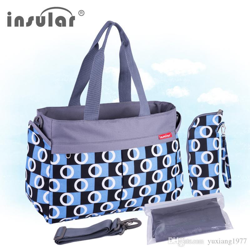 الجملة أزياء متعددة الوظائف حفاضات الطفل حقيبة حفاضات قدرة كبيرة 600D نايلون الأم حقيبة تغيير حقيبة