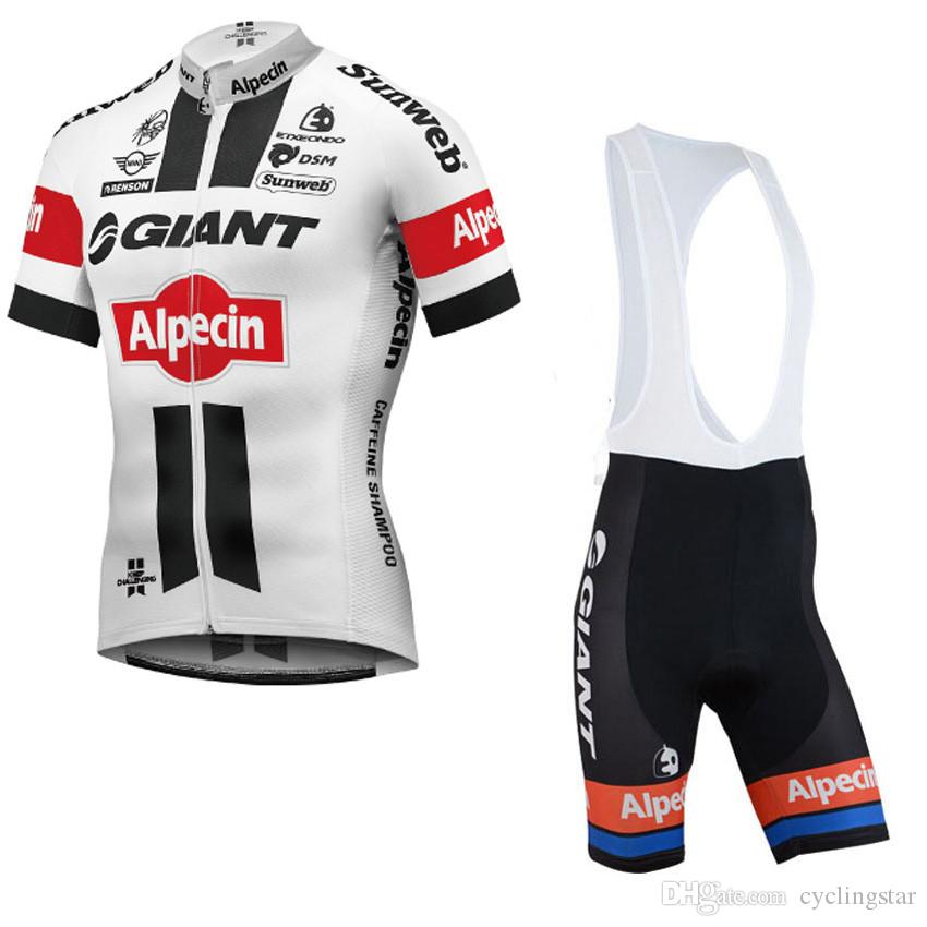 Team Giant Alpecin Cycling Jersey and Bib Shorts