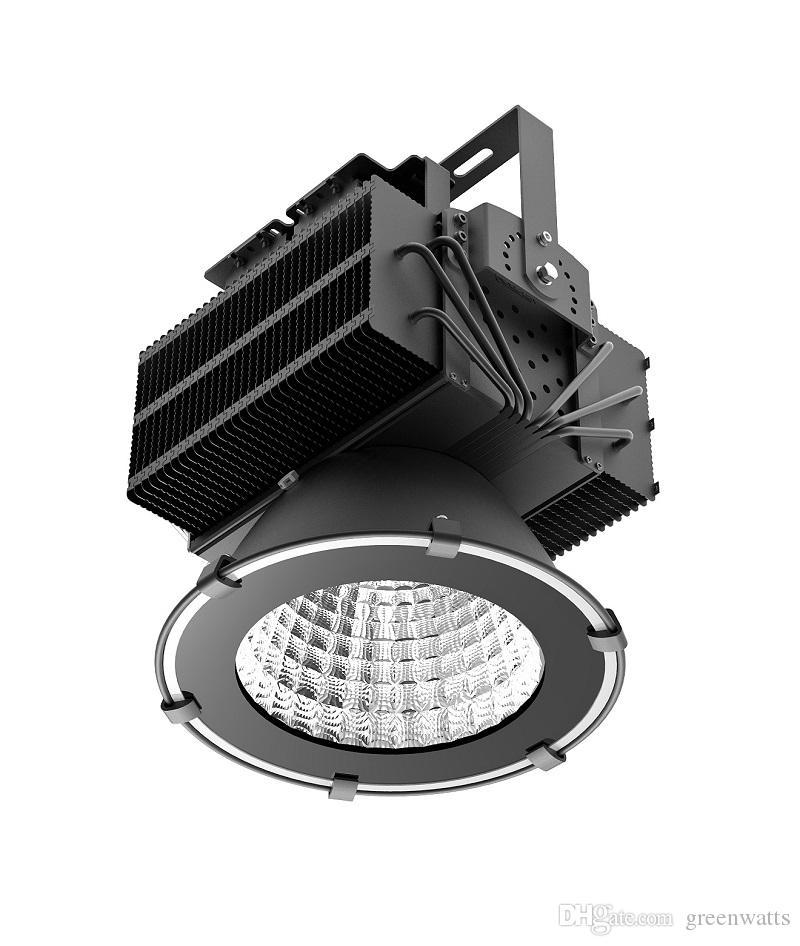 500 W conduziu a luz elevada da baía que mina a lâmpada industrial da microplaqueta Cree da lâmpada do diodo emissor de luz + do diodo emissor de luz de MEANWELL a luz alta impermeável da baía