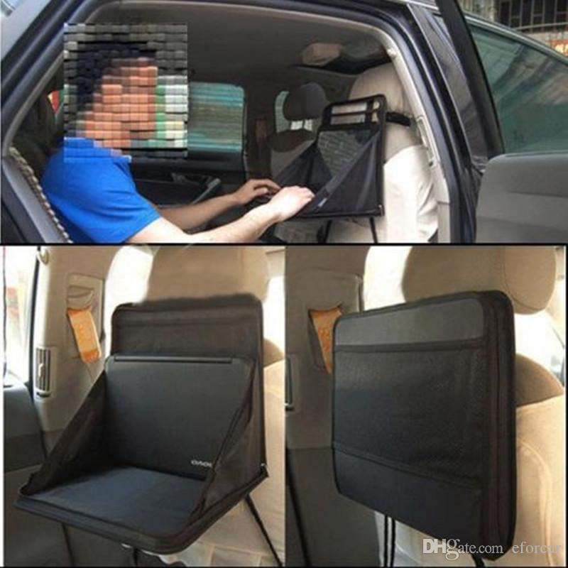 Car Laptop Holder Tray Bag Back Seat Food Table Desk Organizer