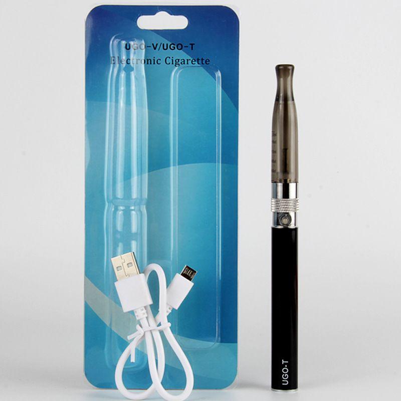 UGO T H2 Electronic Cigarette Kit with UGO Battery E cigarette H2 Vaporizer Applicable Ego Vape Pen e-cig