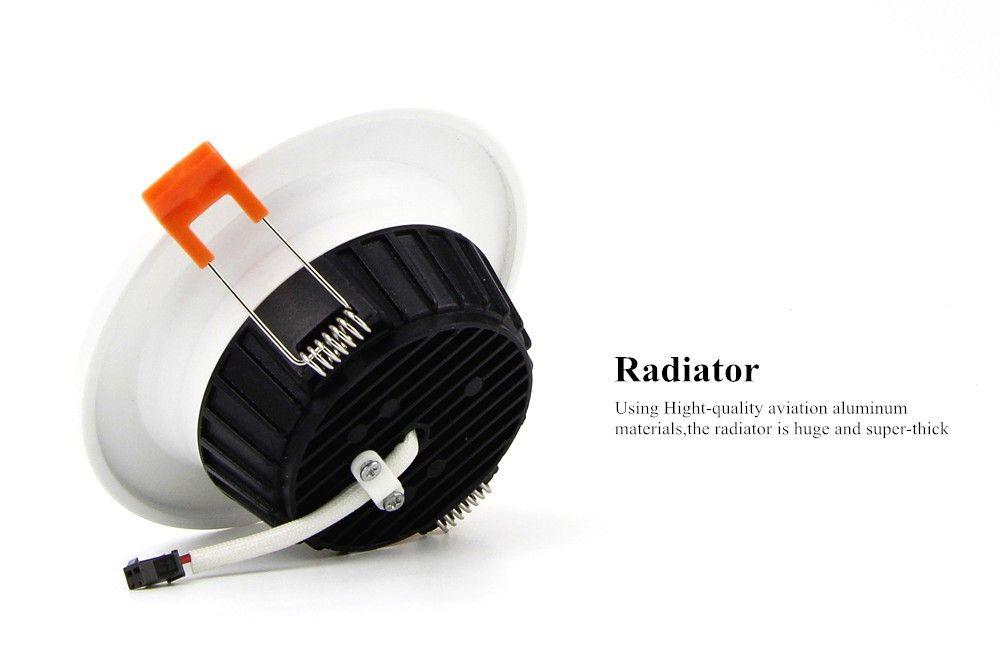 [DBF] AC85-265V LED Down lights 7W 10W 12W LED Downlight Warm whitecold white Led Ceiling Lamp Home Indoor Lighting bulb (3)