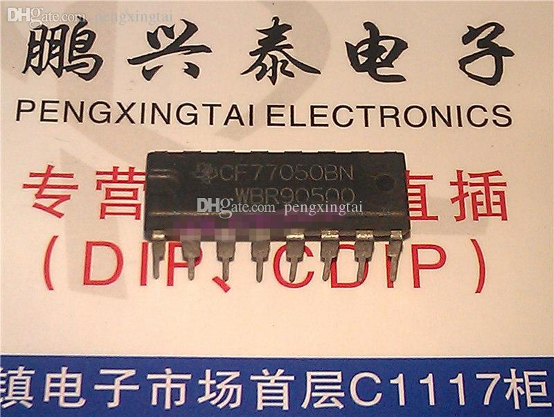CF77050BN , dual in-line 16 pin DIP package . Electronics parts / CF77050 . PDIP16 , IC
