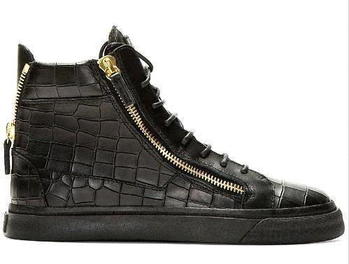 high top men sneakers italian brand casual women shoes