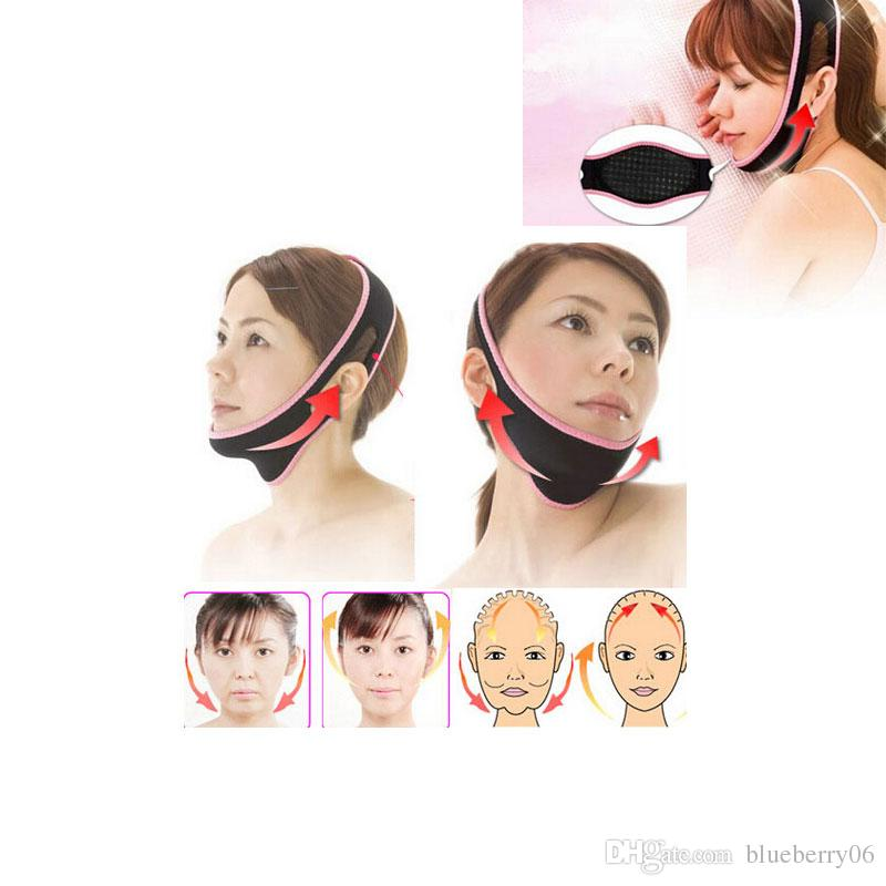 3pcs/lot Face Lifting Mask Face Shaping Mask Lift Up Belt Sleeping Face Lifting Massager Face-Lift Bandage
