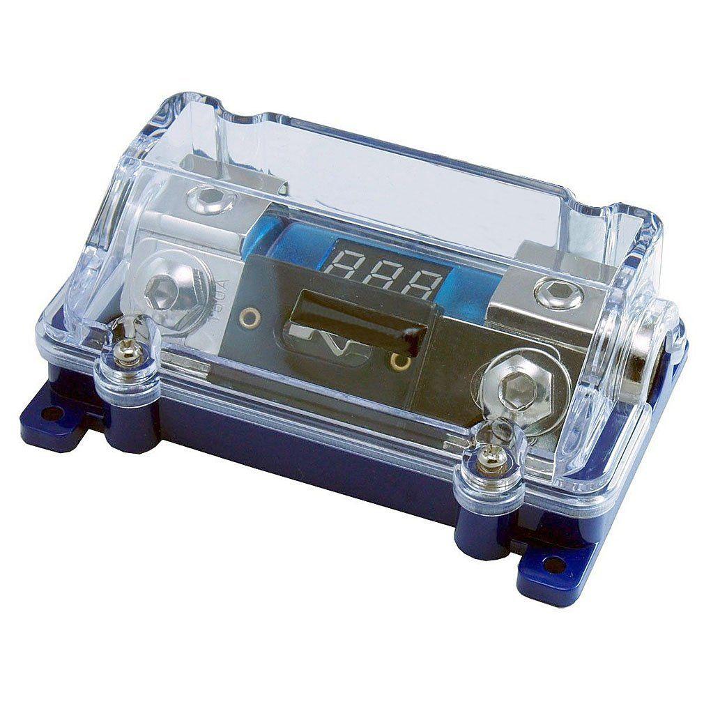 CAR STEREO AUDIO LED DISPLAY BLUE  BASE ANL FUSE HOLDER 0 2 4 GA 100A 300A Gold