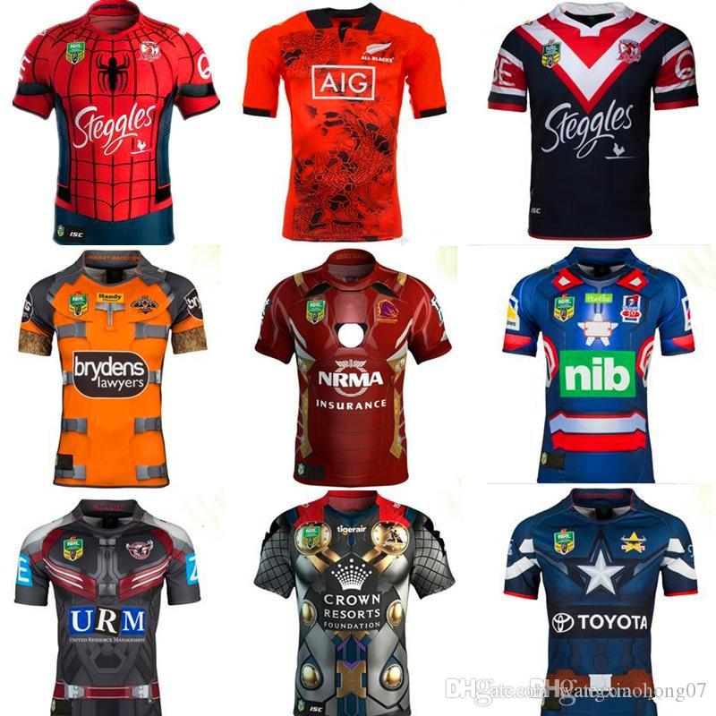 the best attitude 3013c b0b7b 2019 2017 Running CASTLE KNIGHTS BRONCOS IRON MAN MARVEL MANLY FALCON  MARVEL TIGERS ROCKET RACCOON MARVEL COWBOYS CAPTAIN AMERICA JERSEY From ...