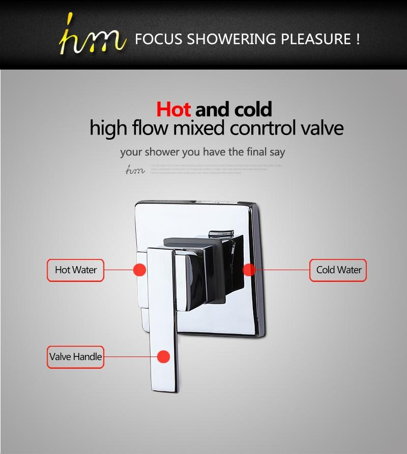 shower switchsolid brass mixing valve shower valve shower mixer faucet