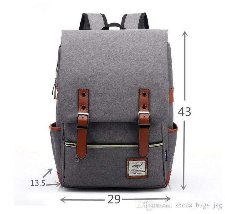 2017 Hot Sell Fashion Students School Bags Laptop Backpack ...