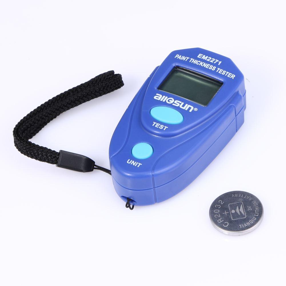 Freeshipping Mini Car Digital vernice Spessore Tester Vernice del calibro di spessore del rivestimento tester dell'automobile misuratore di spessore 2,0 millimetri 0 ~