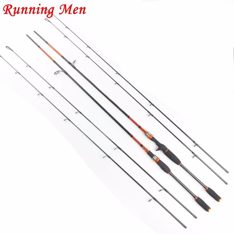 2-1m-2-tips-M-MH-7-2-Sections-Carbon-Spinning-Fishing-Rod-Fast-Action-Fishing