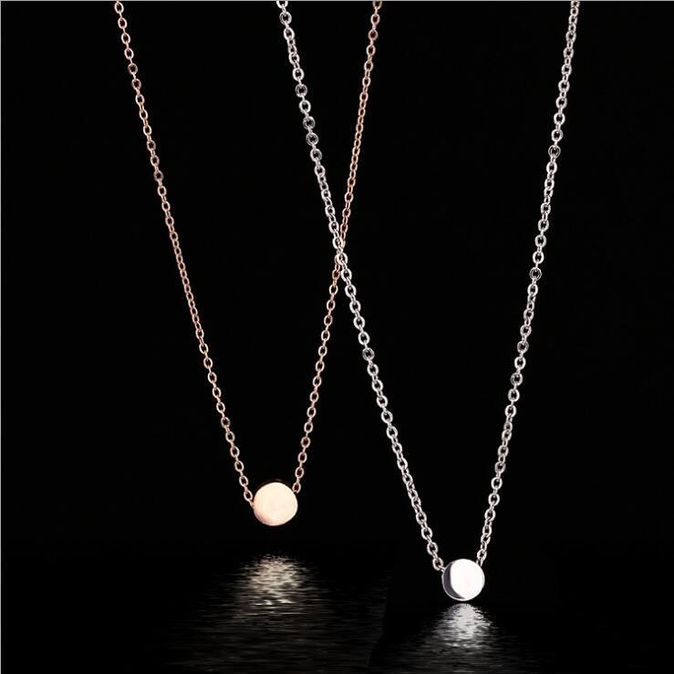 Pequeno ouro feijão clavícula colar Nova Moda Jóias Para Mulheres Roupas acessórios Moda corrente de suspensão Artesanato colar frete grátis