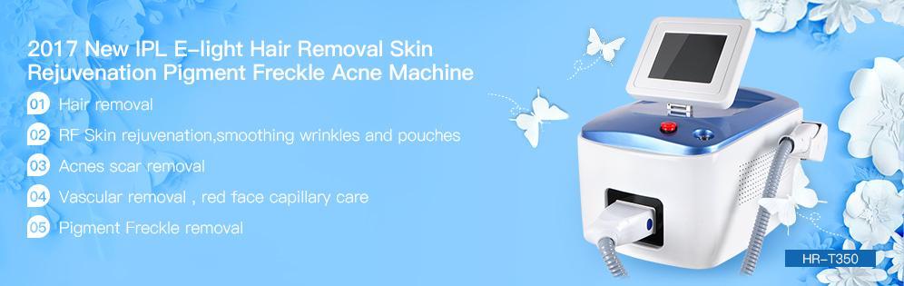 2017 New IPL E-light Hair Removal Skin Rejuvenation Pigment Freckle Acne Machine