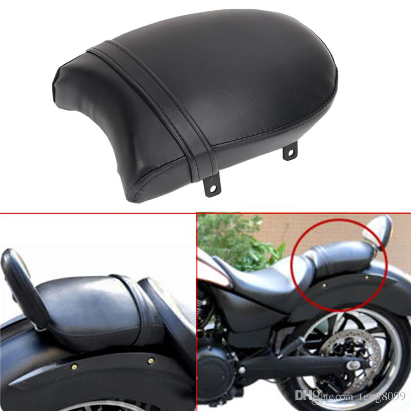 2019 Black Motorcycle Leather Rear Passenger Cushion Pillion Seat Pad Screw Mounting For Victory High Ball Vegas Kingpin Judge From Teng8099 129 66