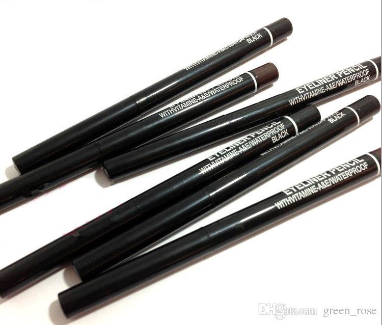 هدية مجانية! جديد التلقائي التناوب العين اينر قلم رصاص أسود