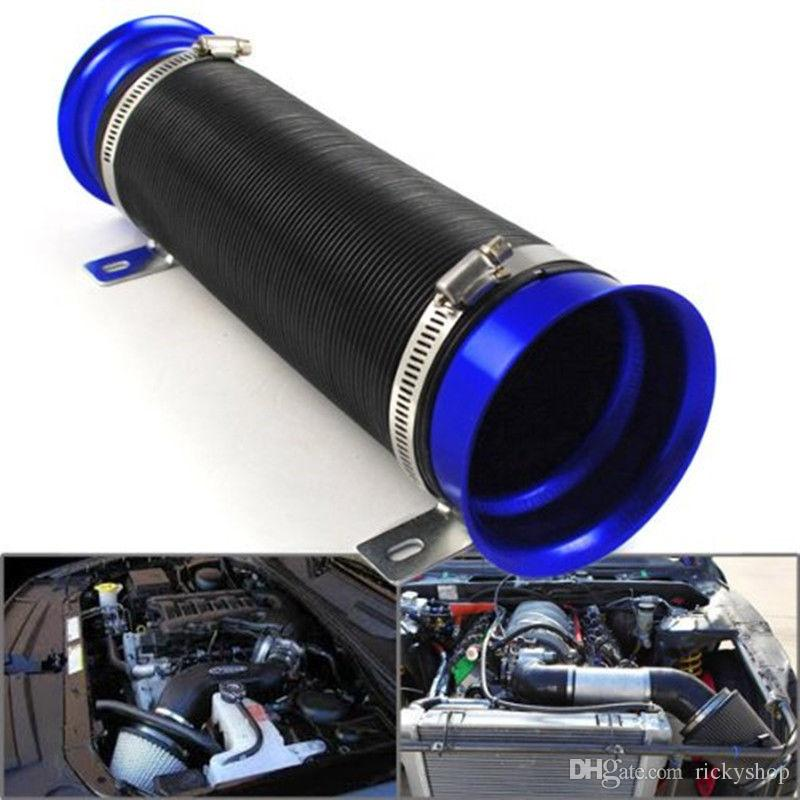 "360 degree Adjustable 3/"" Turbo Multi Flexible Air Intake Pipe Tube Inlet Hose"
