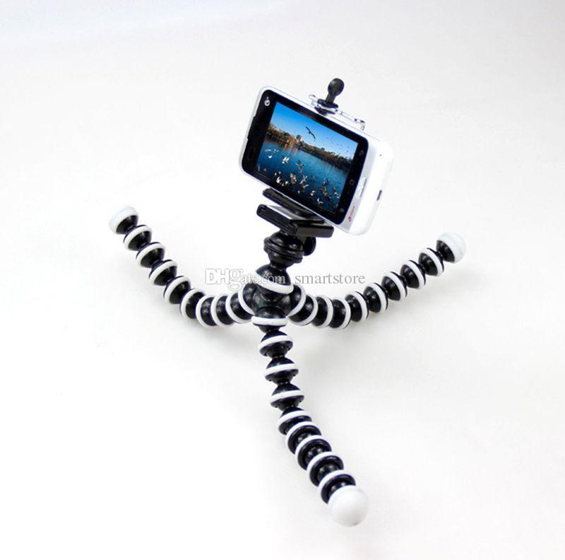200pcs Large Size flessibile del polipo Bubble Supporto treppiedi per il Digital Compact Camera DSLR libera trasporto del DHL FEDEX 0001
