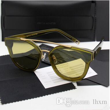 Солнцезащитные очки V бренд солнцезащитные очки новое круглое лицо личность нового круглого лица