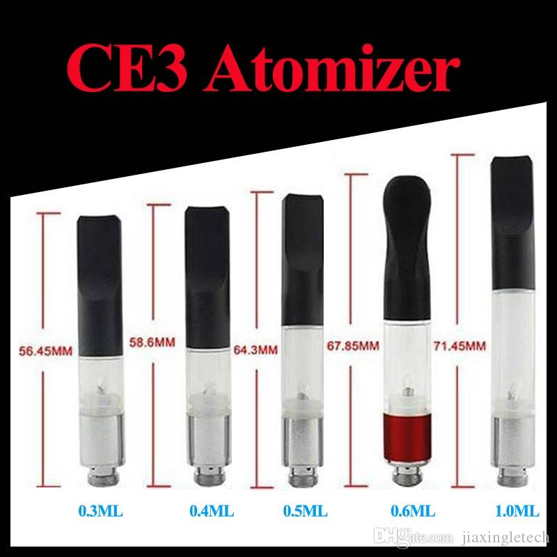 CE3 BUD Touch O-pen Atomizer Vaporizer E Ciagrette 510 Cartridge CE3 Vapor Pen WAX Tank Oil Clearomizer 0.5ml 0.6ml